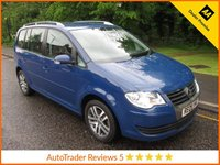 USED 2009 09 VOLKSWAGEN TOURAN 2.0 SE TDI DPF 5d 138 BHP Great Value Volkswagen Touran 2.0 TDi SE with Seven Seats, Air Conditioning, Alloy Wheels, Recent MOT, Service and Cambelt  Change.