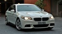 2012 BMW 5 SERIES 3.0 535D M SPORT 4d AUTO 309 BHP £16250.00