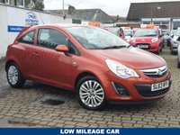 USED 2013 63 VAUXHALL CORSA 1.2 ENERGY AC 3d 83 BHP AS ALWAYS ALL CARS FROM EDINBURGH CAR STORE COME WITH 1 YEARS FULL MOT ,1 FULL RAC INSPECTION SERVICE AND 6 MONTH RAC WARRANTY INCLUDING  12 MONTHS RAC BREAKDOWN RECOVERY FREE OF CHARGE!  PLEASE VISIT OUR WEB SITE WWW.EDINBURGHCARSTORE.CO.UK FOR FULL HD VIDEO TO BOOK YOUR TEST DRIVE CALL US NOW ON 01314534363   PLEASE CALL IF YOU DONT SEE WHAT YOUR LOOKING FOR . WE WILL CHECK OUR OTHER BRANCHES.  WE HAVE  OVER 100 CARS IN DEALER STOCK