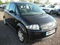 USED 2005 54 AUDI A2 1.4 TDI SPECIAL EDITION 5d 74 BHP Cambelt changed - Low tax - Economical 60 mpg average