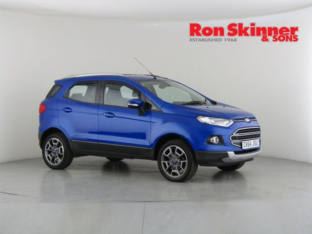 View our 2015 64 FORD ECOSPORT 1.0 TITANIUM X-PACK 5d 124 BHP
