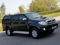 USED 2011 11 TOYOTA HI-LUX 2.5 HL3 4X4 D-4D DCB 1d 142 BHP