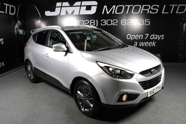 2014 HYUNDAI IX35 1.7 SE CRDI 114 BHP (FINANCE AND WARRANTY)