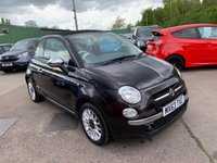 USED 2013 63 FIAT 500 1.2 C LOUNGE 3d 69 BHP ONE LADY OWNER FROM NEW