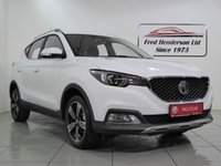 USED 2019 19 MG MG ZS 1.5 EXCLUSIVE 5d 105 BHP Like a brand new car but without the price tag SAVE pound;£1805 on cost new with this immaculate low mileage privately owned MG ZS that carries the balance of the 7 year MG warranty that lasts until 2025.A premium SUV for an economy price a smart new design and next level technology this family ready SUV looks good from all angles and has an impressive specification list that includes satellite navigation,leather effect seats,reversing camera and sensors,air conditioning,cruise control,DAB