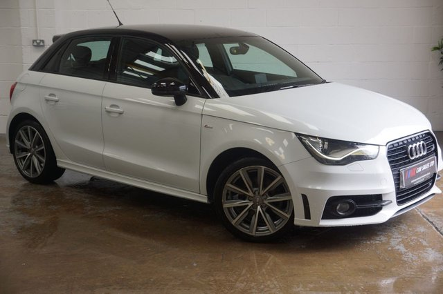 2014 14 AUDI A1 1.4 SPORTBACK TFSI S LINE STYLE EDITION 5d AUTO 121 BHP RESERVED FOR GERRY FROM DERBY