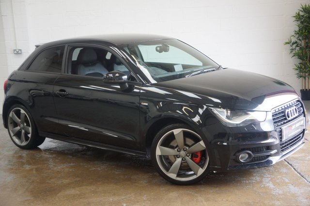 2013 13 AUDI A1 AUDI A1 S LINE BLACK EDITION 185 BHP AUTO SOLD TO ALEXANDRA FROM TEESIDE