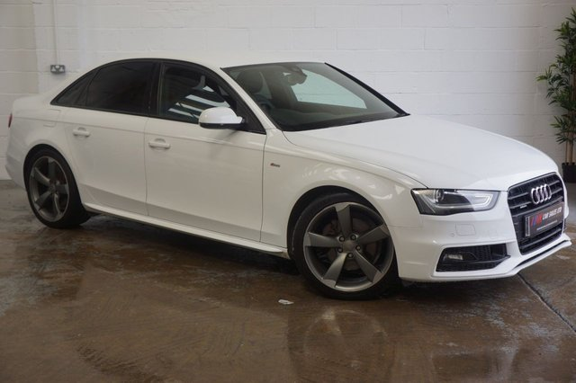 2014 14 AUDI A4 A4 BLACK EDITION QUATTRO AUTO FULLY LOADED RARE 4 WHEEL DRIVE MODEL FULL LEATHERS SOLD TO PHIL FROM SHEFFIELD
