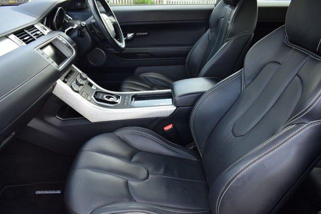 USED 2013 P LAND ROVER RANGE ROVER EVOQUE 2.2 SD4 PRESTIGE 3d AUTO 190 BHP