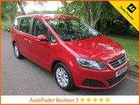 USED 2016 16 SEAT ALHAMBRA 2.0 TDI S 5d AUTOMATIC 150 BHP. *ULEZ COMPLIANT*EURO 6* Great Value One Owner Automatic Seat Alhambra with Seven Seats, Climate Control, Alloy Wheels and SEAT Service History. This Vehicle is ULEZ Compliant with a EURO 6 Rated Engine