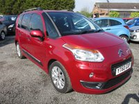 USED 2010 60 CITROEN C3 PICASSO 1.6 PICASSO EXCLUSIVE HDI 5d 90 BHP 30 POUNDS LOW ROAD TAX SERVICE HISTORY