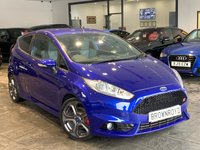 USED 2013 63 FORD FIESTA 1.6 ST-2 3d 180 BHP ++PART LEATHER+FSH++