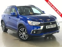 USED 2016 66 MITSUBISHI ASX 1.6 DI-D 4 5d 112 BHP Panoramic Roof/Sat Nav/Leather