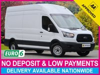 USED 2018 67 FORD TRANSIT 2.0 TDCI EURO 6 LWB L3H3 350 HIGH ROOF PANEL VAN EURO 6 ENGINE PLYWOOD-LINED BLUETOOTH CONNECTIVITY