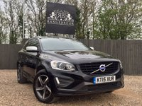 USED 2015 15 VOLVO XC60 2.0 D4 R-DESIGN LUX NAV 5dr AUTO 1 Year Parts & Labour Warranty