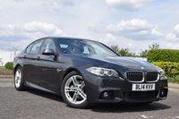 2014 BMW 5 SERIES 2.0 520D M SPORT 4d AUTO 181 BHP £14978.00