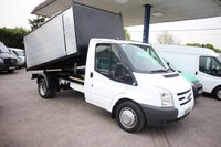 2010 FORD TRANSIT 2.4 350 MWB 1d 100 BHP TIPPER WITH ARB CHIPPER BODY WITH LOCKER £10995.00
