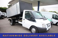 USED 2010 10 FORD TRANSIT 2.4 350 MWB 1d 100 BHP TIPPER WITH ARB CHIPPER BODY WITH LOCKER
