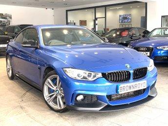 2014 BMW 4 SERIES 3.0 430D XDRIVE M SPORT 2d AUTO 255 BHP £18890.00