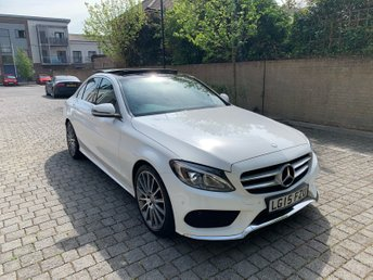 2015 MERCEDES-BENZ C-CLASS 2.1L C220 BLUETEC AMG LINE PREMIUM PLUS 4d AUTO 170 BHP £SOLD