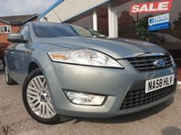 USED 2008 58 FORD MONDEO 1.8 GHIA TDCI 5d 124 BHP