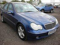 2003 MERCEDES-BENZ C CLASS 2.1 C220 CDI AVANTGARDE SE 4d AUTO 143 BHP £1000.00