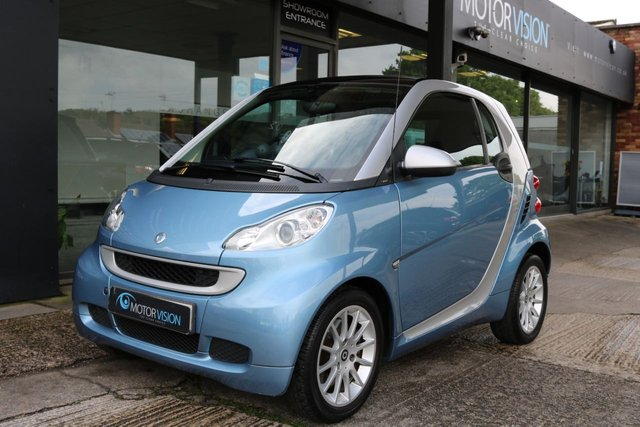 2011 11 SMART FORTWO 1.0 PASSION MHD 2d AUTO 71 BHP