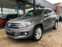2015 VOLKSWAGEN TIGUAN 2.0 MATCH TDI BLUEMOTION TECHNOLOGY 5d 140 BHP £10495.00
