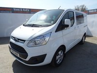 2016 FORD TRANSIT CUSTOM 2.2 290 LIMITED LR DCB 1d 124 BHP £13995.00