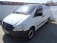 USED 2013 13 MERCEDES-BENZ VITO 2.1 113 CDI 1d 136 BHP MERCEDES BENZ VITO EX LONG NO VAT WITH AIR CON
