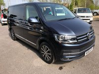 USED 2016 16 VOLKSWAGEN CARAVELLE 2.0 EXECUTIVE TDI BMT 5d AUTO 201 BHP