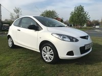 2010 MAZDA 2 1.3 TS 3 DOOR WHITE PREVIOUSLY SOLD BY US VERY CLEAN CAR  £2995.00