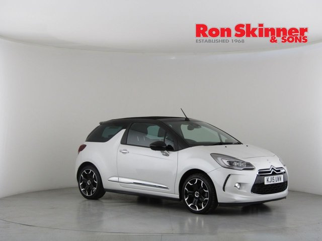 View our 2015 15 DS DS 3 1.6 THP DSPORT S/S 3d 161 BHP