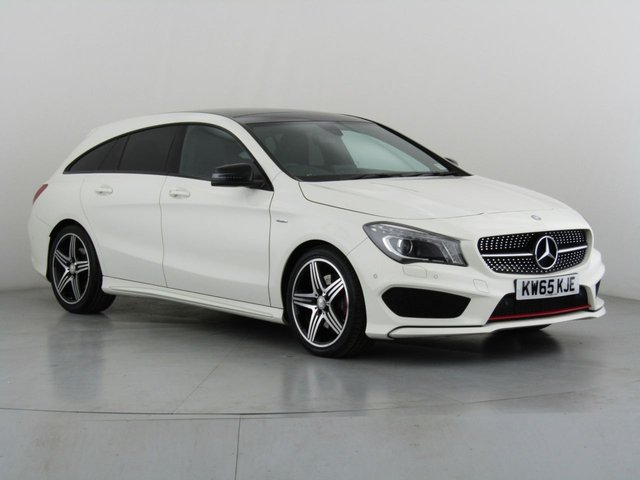 View our 2015 65 MERCEDES-BENZ CLA 2.0 CLA250 4MATIC ENGINEERED BY AMG 5d AUTO 208 BHP