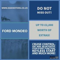 USED 2015 15 FORD MONDEO 1.6 TDCi ECOnetic Titanium (s/s) 5dr *1 OWNER*SATNAV*FULL LEATHERS*