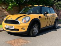 2009 MINI HATCH ONE 1.4 ONE 3d 94 BHP £3250.00
