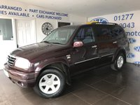 2002 SUZUKI GRAND VITARA 2.7 V6 XL-7 5STR 5d 171 BHP £1500.00