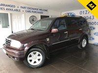 2002 SUZUKI GRAND VITARA 2.7 V6 XL-7 5STR 5d 171 BHP £1500.00