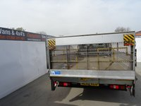 USED 2012 62 FORD TRANSIT 2.2 350 DRW 1d 124 BHP FORD TRANSIT DROPSIDE WITH TAIL LIFT NO VAT NO VAT NO VAT