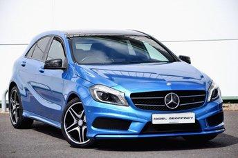 2013 MERCEDES-BENZ A CLASS 1.8 A200 CDI BLUEEFFICIENCY AMG SPORT 5d AUTO 136 BHP £SOLD