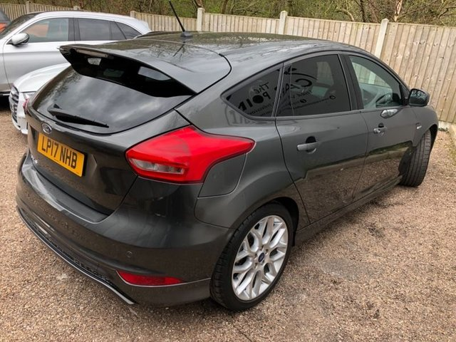 2017 17 FORD FOCUS 1.5TDCi (120ps) ST-Line (s/s) Hatchback 5d 1498cc