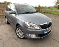 USED 2012 62 SKODA FABIA 1.6 ELEGANCE TDI CR 5d 74 BHP ONE OWNER CAR WITH A FULL SERVICE HISTORY