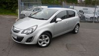 USED 2013 13 VAUXHALL CORSA 1.2 SXI AC 5d 83 BHP LOW MILEAGE!!
