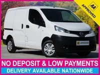 USED 2014 63 NISSAN NV200 1.5 DCI ACENTA PANEL VAN WITH SAT NAV + REV CAM SATELLITE NAVIGATION REV CAM PLY-LINED AIR CONDITIONING