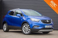 USED 2017 17 VAUXHALL MOKKA X 1.6 ELITE CDTI 5d AUTO 134 BHP £0 DEPOSIT BUY NOW PAY LATER - F & R SENSORS - REAR PRIVACY