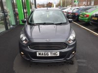 USED 2016 66 FORD KA+ 1.2 ZETEC 5d 84 BHP 85 P.S Only £30 Road Tax, Only 12,000 Miles, Ford Bluetooth, Serviced on Delivery.