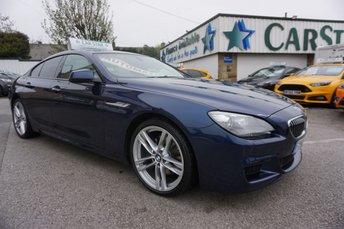 2013 BMW 6 SERIES GRAN COUPE 3.0 640D M SPORT AUTO ( LEATHER & SAT NAV ) £14989.00
