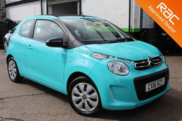 USED 2016 16 CITROEN C1 1.0 AIRSCAPE FEEL 3d 68 BHP VIEW AND RESERVE ONLINE OR CALL 01527-853940 FOR MORE INFO.