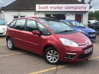 2012 CITROEN C4 PICASSO 1.6 Edition HDi Diesel £5299.00