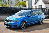 2016 SKODA OCTAVIA 2.0 VRS TDI DSG 5d AUTO 184 RACE BLUE FSSH £15945.00